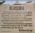 Ribbentrop, Wloclawek, Ogloszenie.jpg