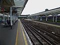 Richmond station platform 6 look east.JPG