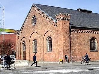 Vester Allés Kaserne - Riding Hall detail