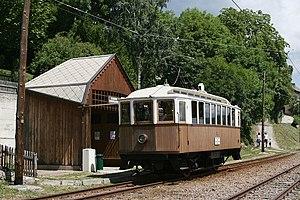 Narrow-gauge railways in Italy - Railcar on the Rittnerbahn/Ferrovia del Renon
