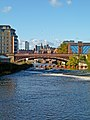 River Aire and Crown Point Bridge, Leeds (Taken by Flickr user 6th November 2011).jpg