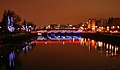 River Clyde at Nighttime - geograph.org.uk - 297993.jpg