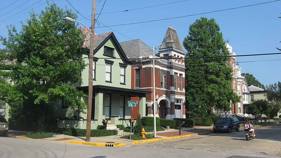 Riverside Historic District in Evansville