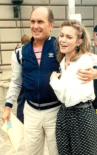 Robert Duvall - Duvall with Diane Lane at the 41st Emmy Awards in September 1989