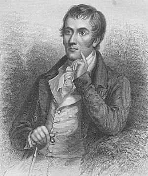 Robert Tannahill - Engraving from the Biographical dictionary of eminent Scotsmen (1875)
