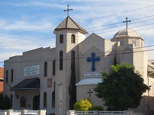 Macedonian Australians - St Petka Macedonian Orthodox Church in Rockdale