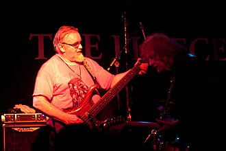 Rockette Morton - Rockette Morton and Denny Walley AKA Feelers Rebo at The Fleece, Bristol, in 2013