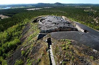 Boden, Sweden - Rödberget Fort, part of Boden Fortress