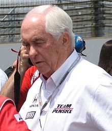 Roger Penske 2009 Indy 500 Carb Day.JPG
