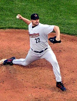 Alumnus Roger Clemens, MLB pitcher and seven-time Cy Young Award winner Roger clemens 2004.jpg