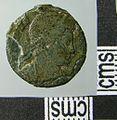 Roman Coin , Nummus of Crispus (obverse) (FindID 643476).jpg