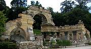 Roman Ruins at Schönbrunn.JPG