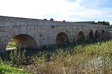 Il ponte romano.