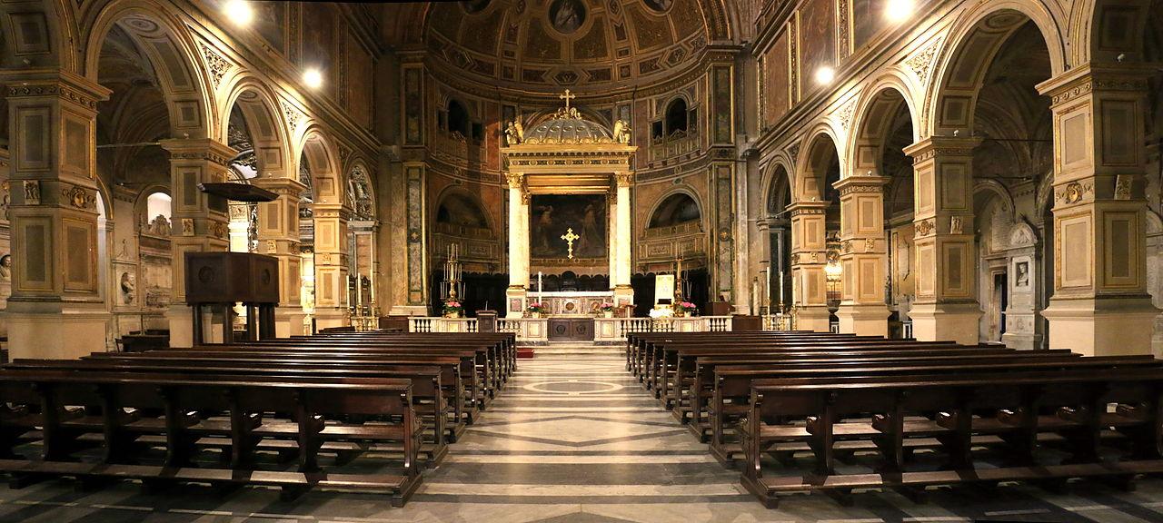 Rome, Chiesa di San Lorenzo in Damaso 001.JPG