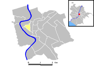Parione - Map of the rione