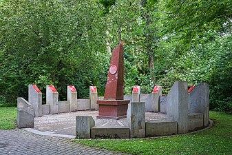 Rondell der Nobelpreisträger at Stadtfriedhof Göttingen 2017 01.jpg