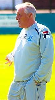 Ronnie Moore English football manager