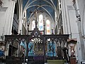 Rood screen of St Michael's church - geograph.org.uk - 1741727.jpg