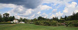 Elizabeth Park, Hartford - Image: Rose Garden and environs at Elizabeth Park, August 10, 2008