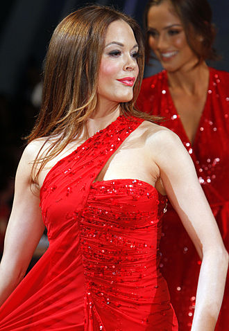 Rose McGowan -  McGowan at The Heart Truth's Red Dress Collection Fashion Show in 2012