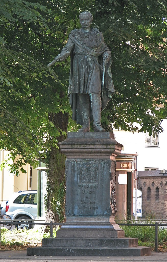 Rostock Blücher Denkmal