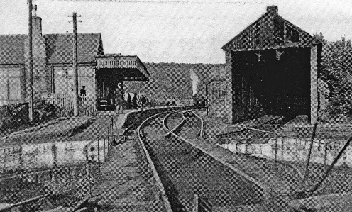 Rothbury railway station - Wikipedia