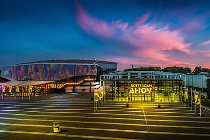 How to get to Rotterdam Ahoy with public transit - About the place