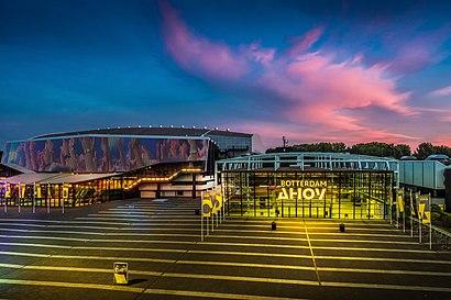 Hoe gaan naar Rotterdam Ahoy met het openbaar vervoer - Over de plek