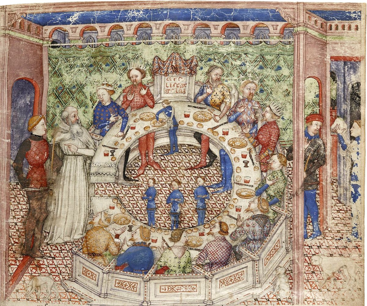 Galaad vikidia l encyclop die des 8 13 ans - Le roi arthur et les chevaliers de la table ronde ...