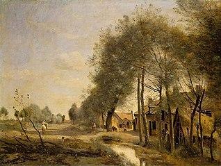 La Route de Sin-le-Noble, près de Douai