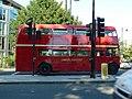 Routemaster bus approaching Chelsea Bridge - geograph.org.uk - 3064599.jpg