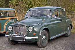 Una Rover 75 Mark II