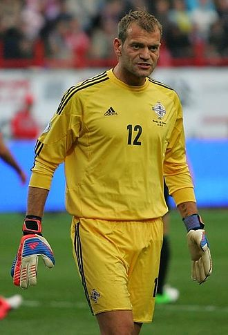 Roy Carroll - Carroll playing for Northern Ireland in 2012