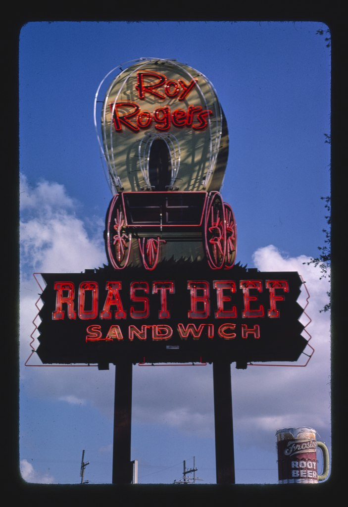 File Roy Rogers Roast Beef Sign New Orleans Louisiana