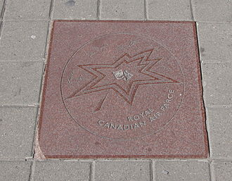Roger Abbott - Royal Canadian Air Farce's star on Walk of Fame in Toronto, signed by Roger Abbott and other cast members