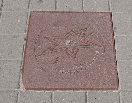 Royal Canadian Air Farce's star on Walk of Fame in Toronto, signed by Roger Abbott and other cast members Royal Canadian Air Farce star on Walk of Fame.jpg