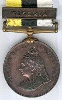 Royal Niger Companys Medal Award