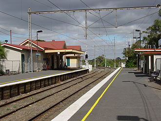 Parkville, Victoria - Royal Park railway station