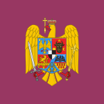 Royal standard of Romania (Queen Mother, 1941 model).svg