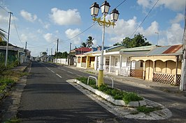 Straat in Port-Louis