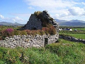 Ballywiheen - Stone church