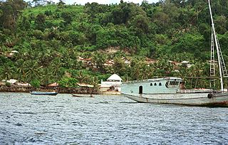village in Maluku Tengah, Maluku Province, Indonesia