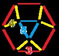 Runcic order-5 hexagonal tiling honeycomb verf.png
