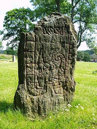 Södermanland Runic Inscription 239 - The Sö 239 runestone fragment.