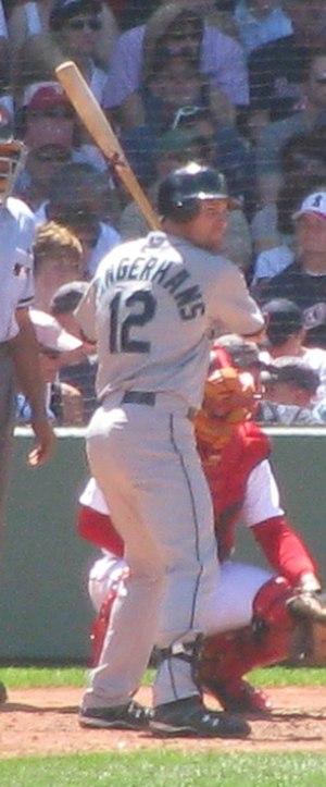 Ryan Langerhans - Langerhans batting for the Seattle Mariners in 2009