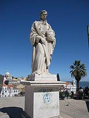 Statue of Vincent of Saragossa