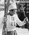 Sølvvinner Kalevi Laurila fra Finland etter 3-mila under VM på ski i Oslo 1966 (5476384612).jpg