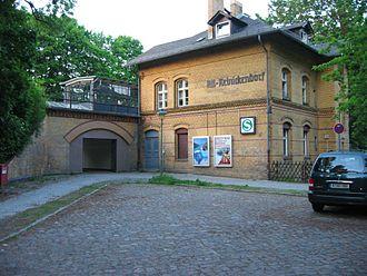 Reinickendorf (locality) - Image: S Bahnhof Berlin Alt Reinickendorf