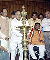 S. Jaipal Reddy inaugurates Public Meeting to Commemorate conclusion of the historic Dandi March, organised by Freedom Movement Memorial Committee in New Delhi on April 6, 2005.jpg