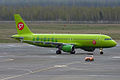 S7 Airlines, VQ-BES, Airbus A320-214 (17277250529).jpg